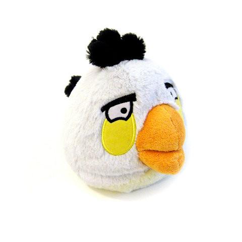 White - Angry Bird Plush Toy 愤怒的小鸟毛绒玩偶