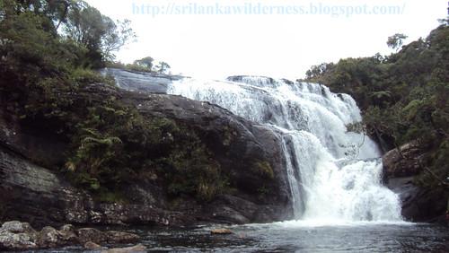 Baker's Falls,Horton Planes Natoinal Park, Sri Lanka