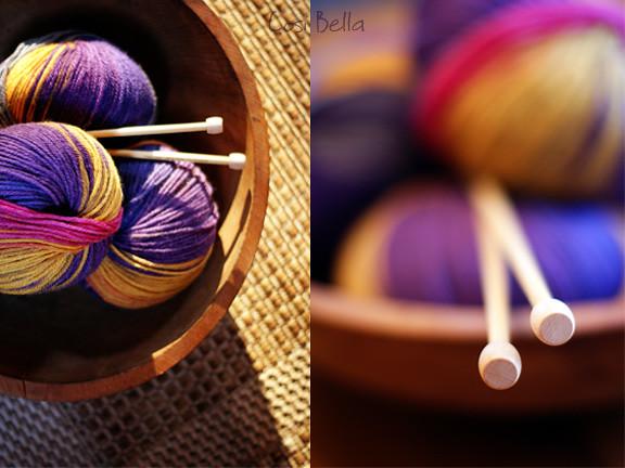 warm yarn dip