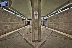 Wilshire/Western Metro Station (Josphine Runneboom) Tags: station train underground subway la losangeles publictransportation metro hdr