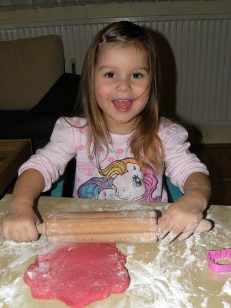 rosa kekse
