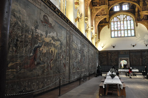 Tapestries in the Great Hall
