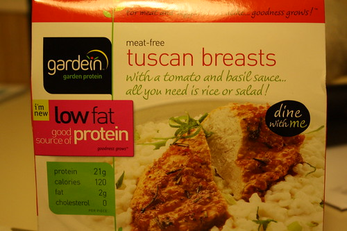 Gardein tuscan breasts