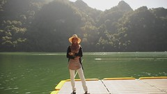 We went to the lake (i.am.syahir) Tags: lake slr 50mm video nikon pregnant hd langkawi maiden pulau bunting footage dayang 18135mm d300s