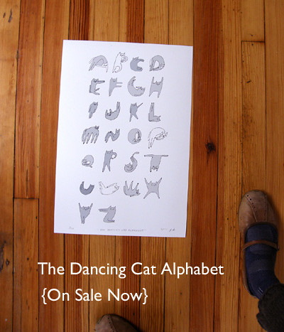 The Dancing Cat Alphabet