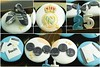 Soccer Cupcake Set ( real madrid )