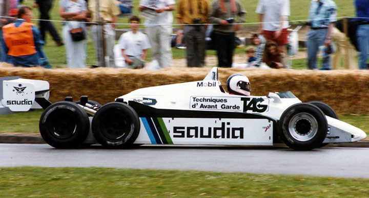 Williams FW08D_Johnathan Palmer Goodwood #1994