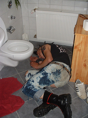 Study Shows Personal Transformation Most Effective After Keg Party, Midnight.