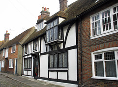 Rye Church Square (Louise and Colin) Tags: road street old vacation england blackandwhite house holiday building english heritage history architecture sussex weekend cottage culture medieval rye popular halftimbered churchsquare