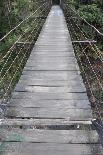 秀巒-控溪吊橋