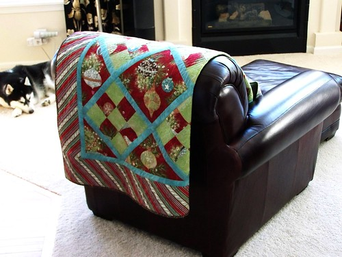 Fruitcake Plaid About you on new chair