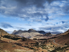 Langdale Pikes from Wrynose Pass, Lake District (ianbrookesphotography) Tags: winter mountains lakedistrict wrynosepass langdalepikes