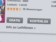 iTunes gratis kostenlos