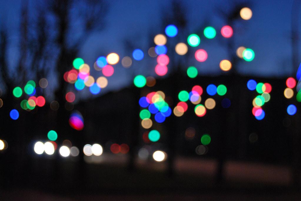 New Year City Lights