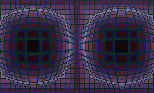 "Victor Vasarely • <a style=""font-size:0.8em;"" href=""http://www.flickr.com/photos/30735181@N00/5323530263/"" target=""_blank"">View on Flickr</a>"