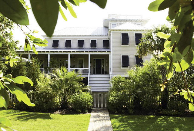 Charleston Home Mag Trading Paces  Front of House