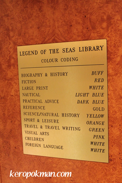 Legend of the Seas Library