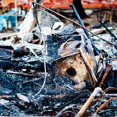 Fire Debris, San Bruno Gas Line Explosion, 2010