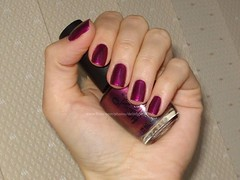 OPI - Diva of Geneva (Swiss Collection Fall 2010) (DelodyLady) Tags: pink dark purple metallic burgundy magenta plum glimmer shimmer