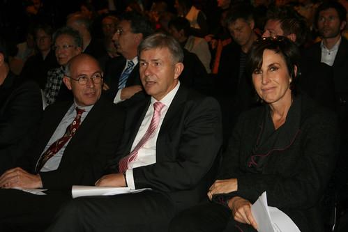 Prof. Martin Rennert, Klaus Wowereit, Hortensia Völckers