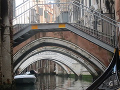 three venice bridges