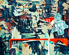 homage to pollock (Andre Delhaye) Tags: street wall colours photograph
