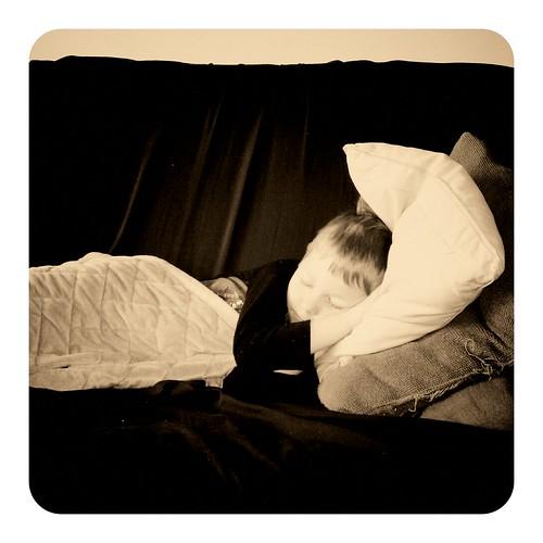Sick Kiddo - 1/6/2011