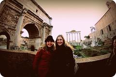 Carrisa and Melissa at the Forum (mrusc96) Tags: juliusceasar forumromanumancientrome