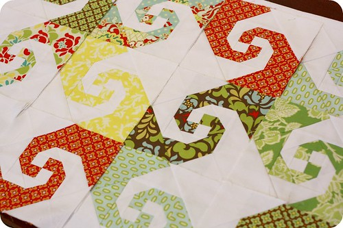 Parasols Quilt pieces