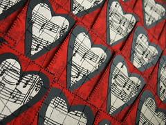 Valentine's Day ATCs (Shanda Panda) Tags: atc artisttradingcard hearts fabric stitching valentinesday