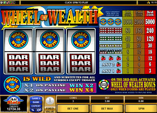 Wheel of Wealth slot game online review