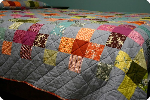 Flower Valley Quilt - side