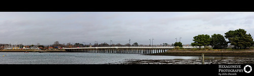 10/365 Hayling Bridge Panorama