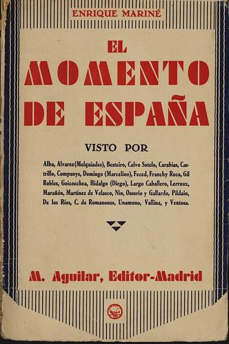 El Momentode España (portada)