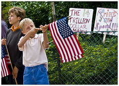 Anti- Health Care Rally (Blinkofanaye) Tags: washingtondc gun politics rally medical violence republican scare rightwing healthcare teaparty secondamendment 090912 hr4872