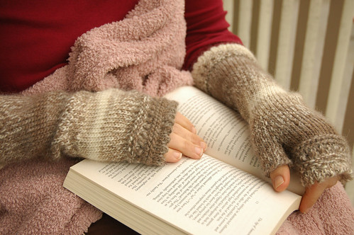 Melissa's Reading Mitts
