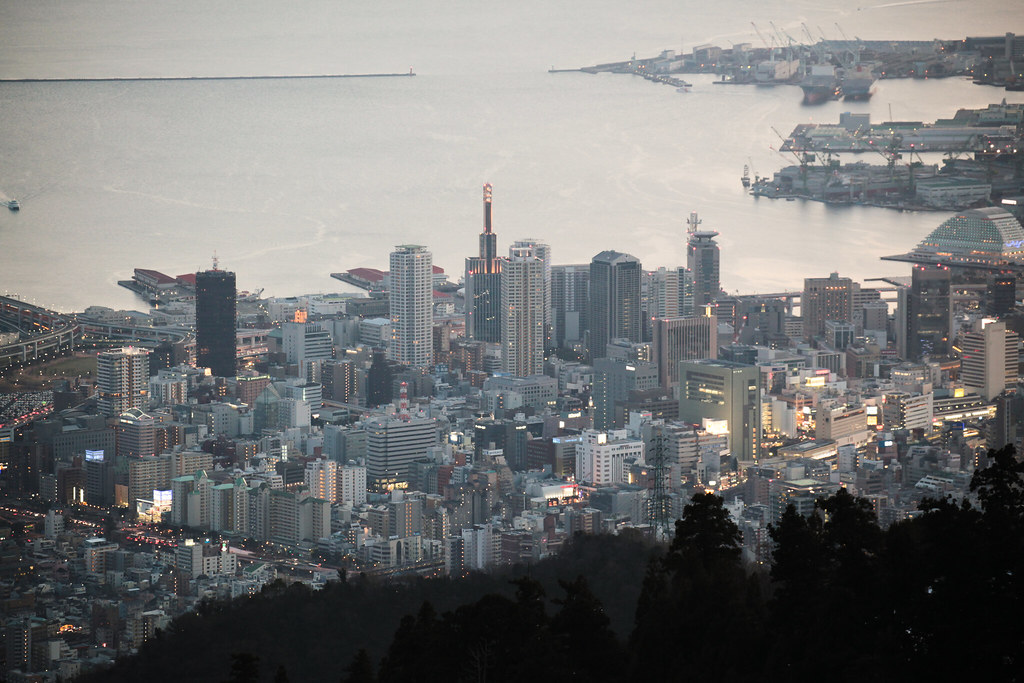 View of Kobe from Kikuseidai