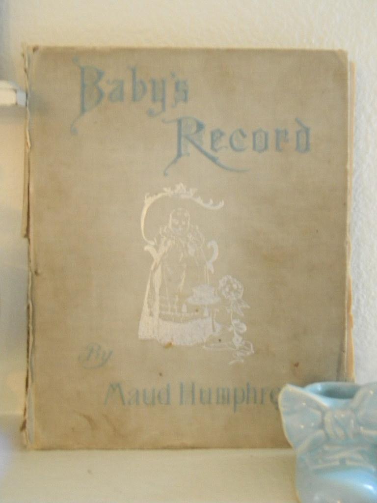 1908 Maud Humphrey Baby Book