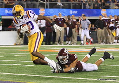 Terrence Toliver - 2011 Cotton Bowl - LSU v Texas A&M 1-7-11 (18) (MattyV53) Tags: college cowboys arlington dallas football am texas bowl cotton lsu catch dallascowboys sec ncaa touchdown wr texasam cottonbowl td aggies ncaafootball collegefootball big12 lsutigers widereceiver cowboysstadium jerryworld matthewvisinsky mattyv53 mattvisinsky terrencetoliver