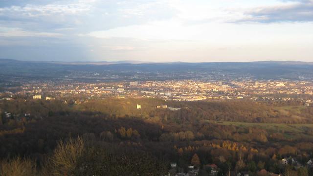 Kassel vom Brasselsberg aus