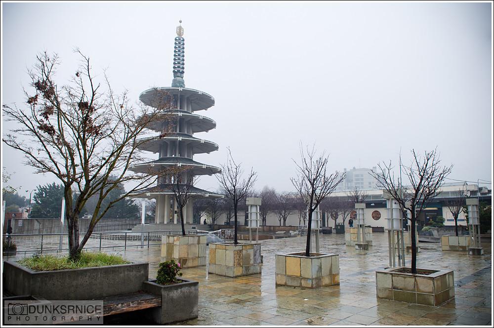 Japan town.