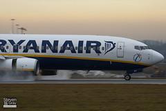 EI-DWT - 33626 - Ryanair - Boeing 737-8AS - Luton - 110106 - Steven Gray - IMG_7558