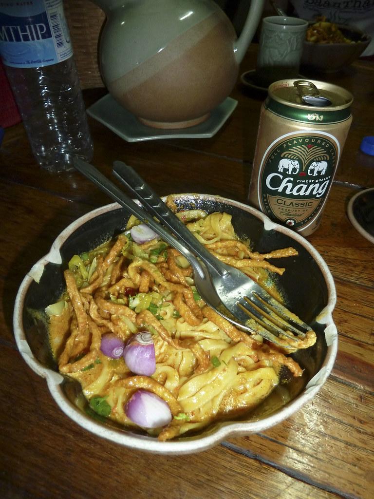 Chiang Mai Noodles - Baan Thai Cooking School - Chiang Mai, Thailand