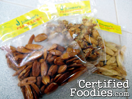 Pili Nut Candies sold at Good Shepherd in Baguio - CertifiedFoodies.com