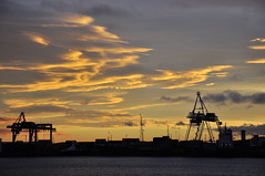 tees england, ships terminal (Rhannel Alaba) Tags: sunset england seascape by sunrise lens landscape photography nikon ship captured terminal bow 18 chemical tankers tees 105mm d90 nikor alaba odfjell rhannel bracaria