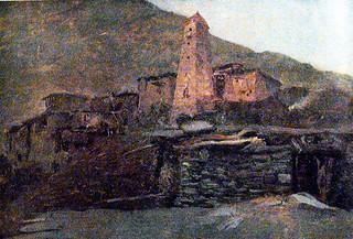 სოფელი ხევსურეთში ~ Village on Khevsureti
