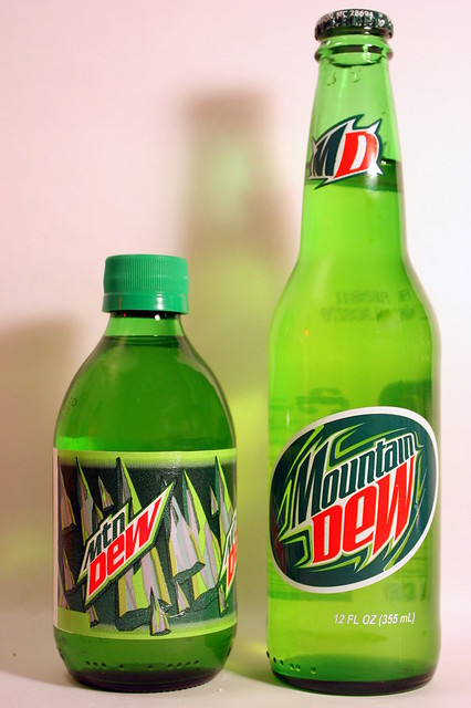 The Country Mountain Dew and the City Mountain Dew