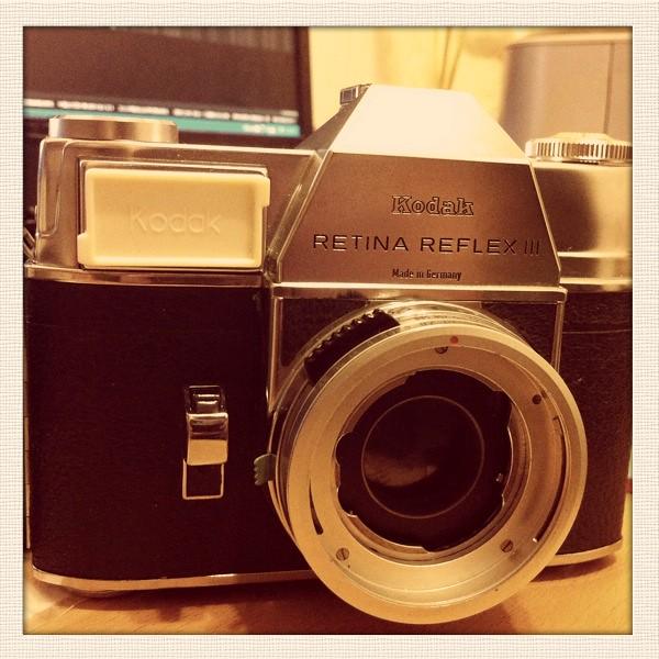 RETINA REFLEX III+REDSCALE+Retina Xenar 45mm F2.8