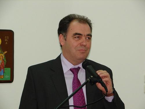 Ο αντιπεριφερειάρχης Κιλκίς κ. Χρήστος Γκουτενούδης