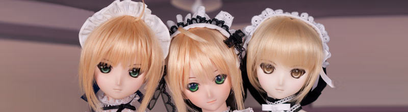 Trinity of Dollfie Dream Saber Maid DD セイバーメ�